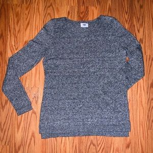 Old Navy Gray Lightweight Sweater